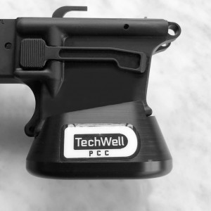 PCC TECHWELL for Black Creek Precision GLK-F 9mm Glock Mag and 9 Other PCC Lowers (Fit List Below)