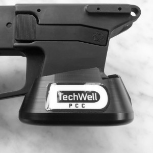 PCC TECHWELL for CMMG Banshee (for 9mm Glock Mags)