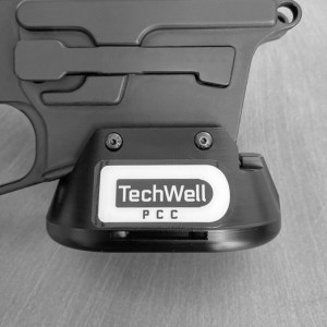 PCC TECHWELL for Wolfpack Armory Billet 9mm Glock Mag