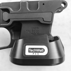 PCC TECHWELL for Cross Machine Tactical UHP9 for Glock 9mm Mag