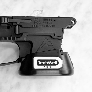 PCC TECHWELL for Rainier Arms Billet 9mm Glock Mag