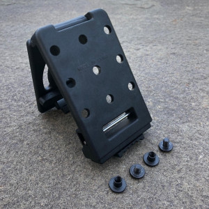 PLM  Attachment | Push Button Locking Mount with Hardware